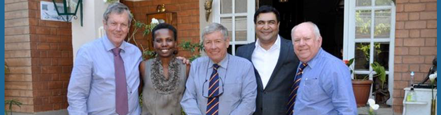 South African investment delegation