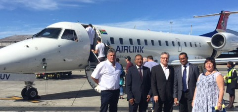 Inaugural flight Johannesburg-Nosy Be